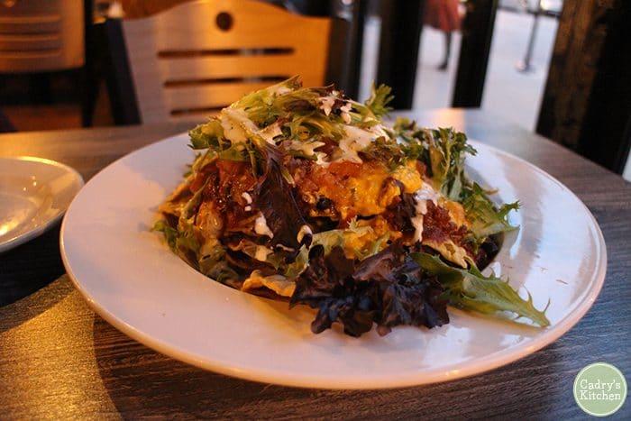Nachos at Kitchen 17 in Chicago, Illinois.