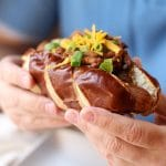 Vegan chili dog: When only a coney will do