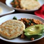 Vegan corn cakes: Gluten free breakfast