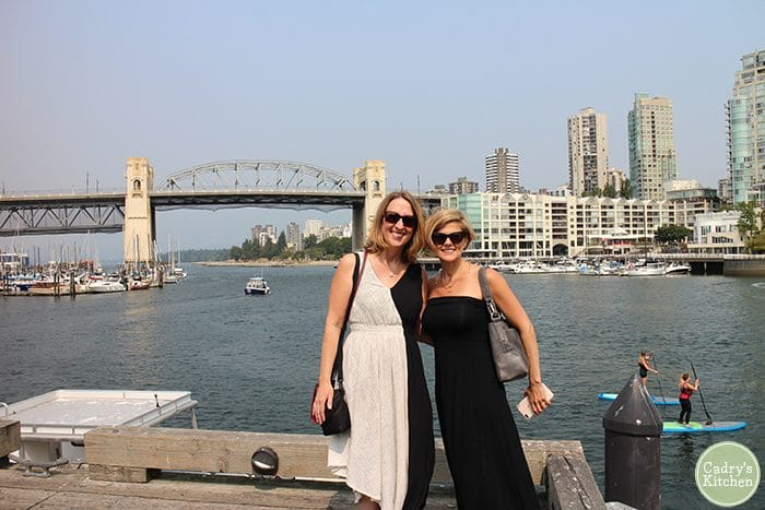 Cadry & Kristy on Granville Island, Vancouver.