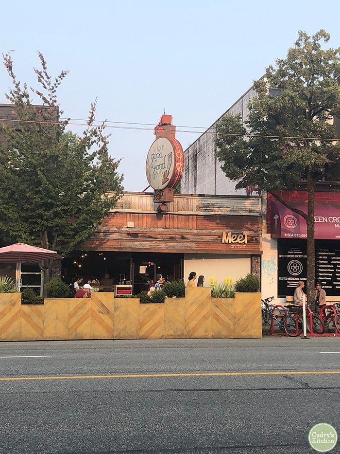 Vegan Vancouver restaurant, MeeT on Main.