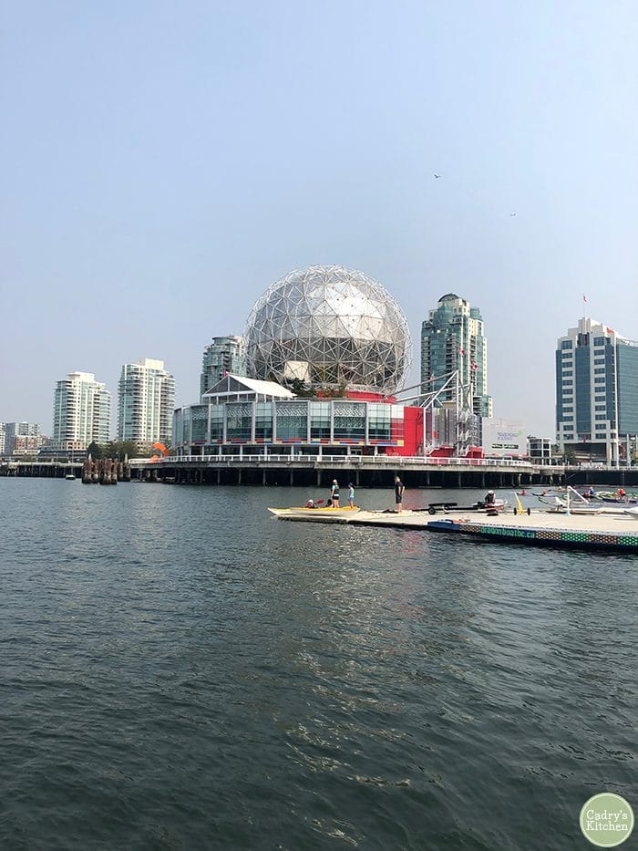 Science Center on river in Vancouver, Canada.