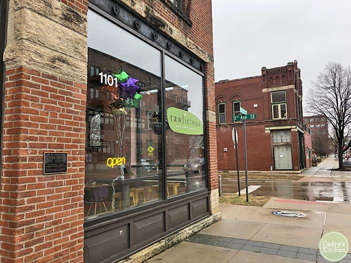 Exterior Rawlicious in Cedar Rapids, Iowa