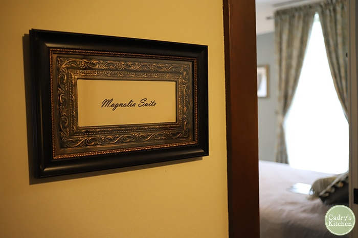 Magnolia Suite at the Cherry Tree Inn Bed & Breakfast.